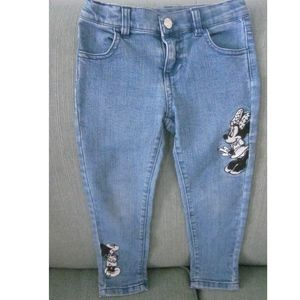 Disney Adjustable Stretch jeans- Minnie & Mickey